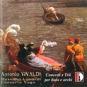 Vivaldi : Concertos et Trios pour luth et cordes. Lonardi.