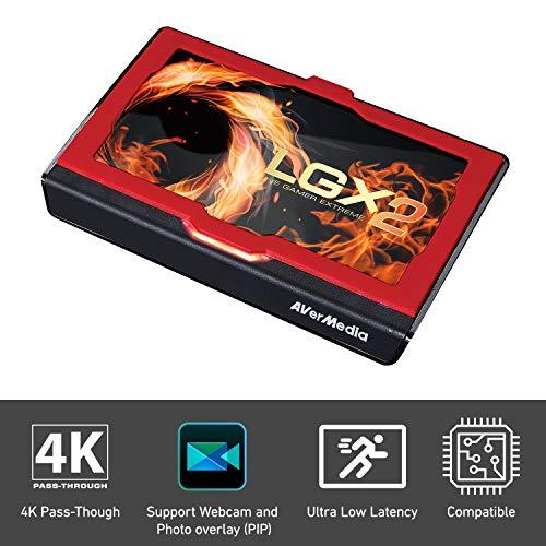 AVERMEDIA Live Gamer Extreme 2 - Capturadora de Video, Color Negro