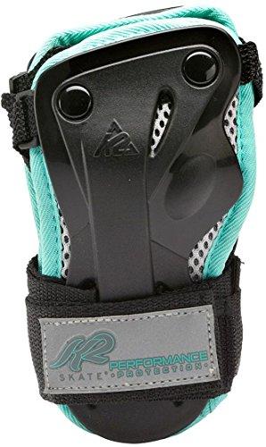 K2 Damen Schoner Performance W Wrist Guard, schwarz/türkis, S, 3041604.1.1.S