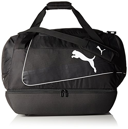 PUMA Sporttasche evoPOWER Football Bag Junior, black/White, 52 x 26 x 11 cm