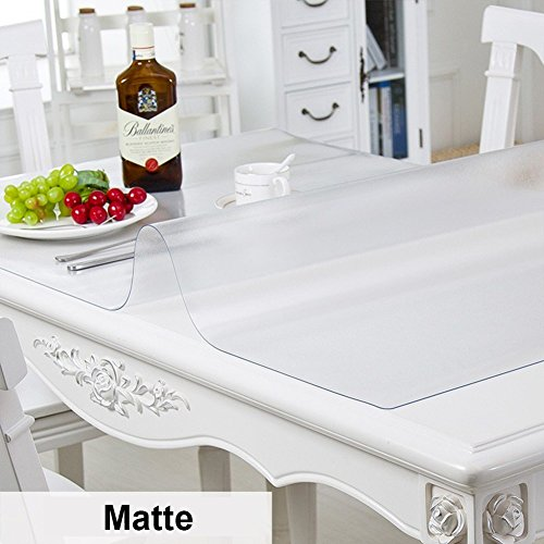 HM&DX Transparentes Manteles mesa Impermeable Libre
