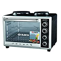Elekta Electric Oven With 2 Hot Plates & Rotisserie (43L)
