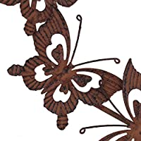 Rusty Metal Butterfly Swarm Wall Art Garden or Home Ornament by Gardens2you