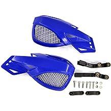 BJ Global - Cubiertas protectoras para motocicleta, 22 mm, compatibles con Honda, Kawasaki, Suzuki, Yamaha, Aprilia, Ducati, Hyosung, Sport Bike, Street Bike, Kfx, Snowmobile, Polaris, Skidoo, Arctic Cat, Raptor, Grizzly, Kodiak, Banshee, Phaser, etc.