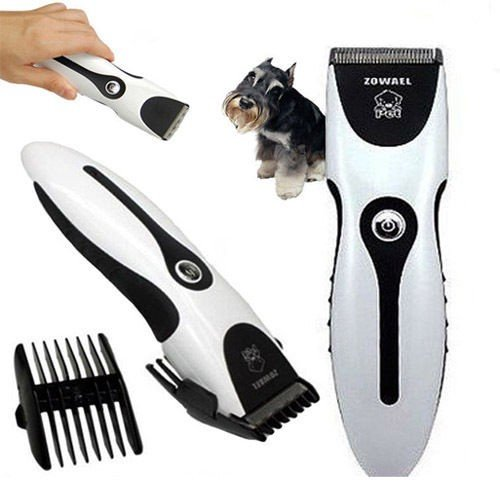 Takestop® Schermaschine für Hunde und Katzen Hunde-Rasierer  Professionelle Pflege mit verschiedenen Abstandshaltern
