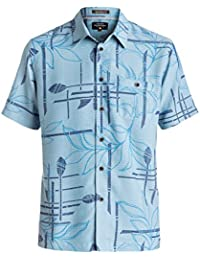 Quiksilver Men's Paddle Out Comfort Fit Casual Button Down Shirt