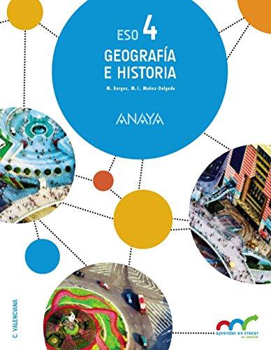 Geografía e Historia 4. (Aprender es crecer en conexión) [Comunidad Valenciana] - 9788469812174 por Manuel Burgos Alonso