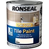 Ronseal One Coat Fliesenlack Elfenbein Satin