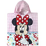Poncho toalla Minnie Disney Flowers algodon