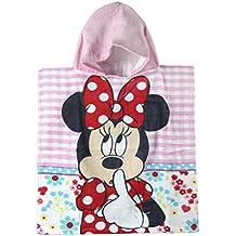 Poncho toalla Minnie Disney Flowers algodon