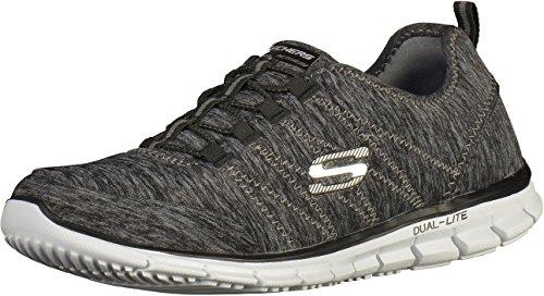 Skechers - Gliderelectricity, Sneaker Donna Nero