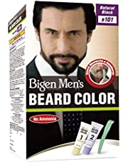 Bigen Men's Beard Color, Natural Black B101, 40g