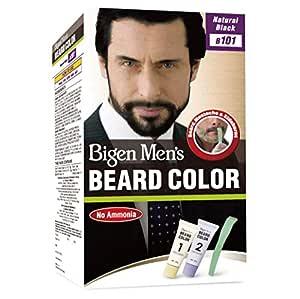 Bigen Men's Beard Color, Natural Black B101, 40g