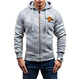 Luckycat Herren Herbst Winter Casual Reißverschluss Langarm Pullover Sweatshirt Hoodie Mantel Top Mode 2018