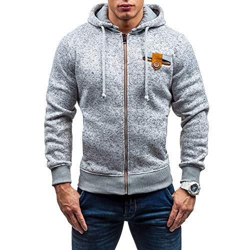 CIELLTE-Manches-Longues-Homme-2019-Mode-Cardigan-Hoodies-Hooded-Dcorative-Slim-Chaud-Pullover-Sweatshirt-Coat-Top-Manteau-avec-Capuche
