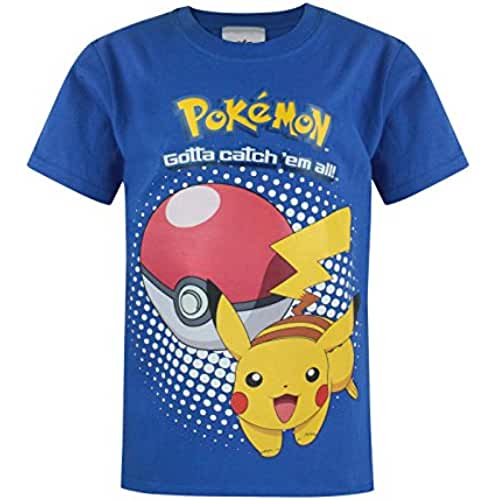 Pokemon Niño  Camiseta