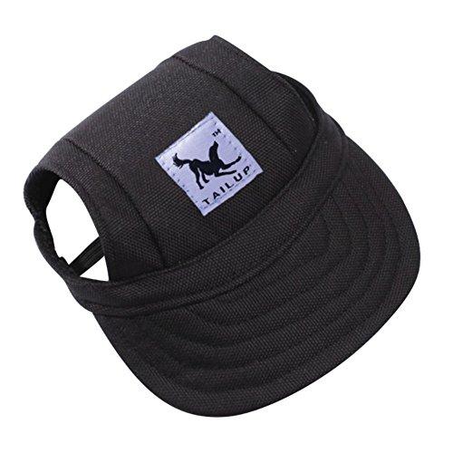 Handfly Outdoor Baseball Hüte mit Ohrenaussparung für Kleines Haustier/ Hund/ Katze,in vielen verschiedenen Stilen,Größe: M/S