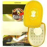 Bufalo Fersenkissen Komfort aus echtem Leder 1 Paar (1 Größe 35 - 36) preisvergleich bei billige-tabletten.eu