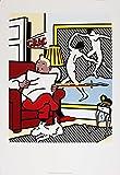 1994Roy Lichtenstein Tim und Struppi Poster Lesen