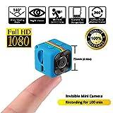 Sq11 Mini Camera , HD Camcorder , Nanny Cam , Hidden Camera ( Night Vision , FOV140 , 1080P , Miniature Camera Wifi ) Covert Cameras Sports Mini DV Video Recorder by LITEBEE immagine