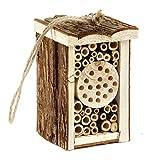 Pet Ting Petit hôtel à Insectes en Bois écologique pour Abeilles et Papillons 16,5 cm