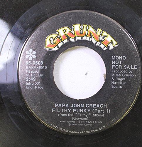 papa-john-creach-45-rpm-filthy-funky-part-1-filthy-funky-part-2
