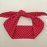 Picnic Party Baby Headband - Red Polka Dot