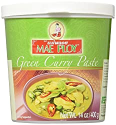 Mae Ploy Green Curry Paste, 400 G