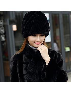 XIAOLIN- Inverno Tenere Caldo Signorina Cappello Cuffie Antirumore Cappello Sciarpa Cappello Di Mamma 6 Colori...