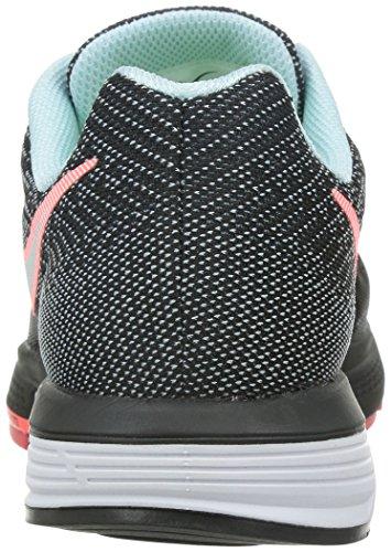 Nike Wmns Air Zoom Vomero 10 Damen Laufschuhe Sc hwarz (Schwarz / Rot)