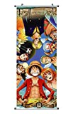 CoolChange Kakemono/Poster de la Serie One Piece, Tema: Piratas Sombrero de Paja