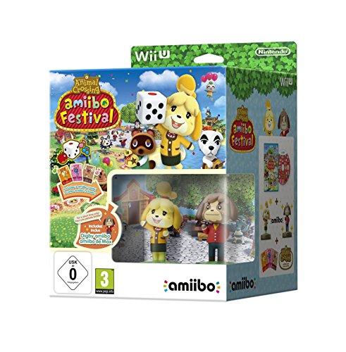 Nintendo Wii U: Animal Crossing Amiibo Festival: Fuffi E Fofo + 3 Carte Amiibo [Importación Italiana]