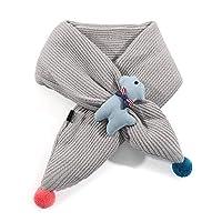 MK MATT KEELY Childrens scarves Girls scarf for Kids Boys Snood Neck Warmer for Winter