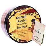 AKAMUTI - Gesichtsmaske mit Kakao Eibisch und Rose - Tonisiert