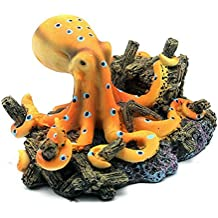 bobury ocano octopus diseo paisaje adornos para acuario bobury tank decoration