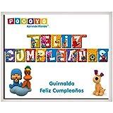 Pocoyo - Guirnalda feliz cumpleaños (Verbetena 016000354)
