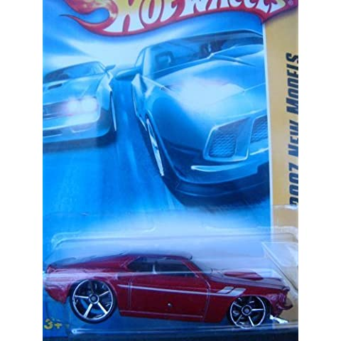 Hot Wheels '69 Ford Mustang, Red, FTE, Gray Interior, Chrome Grill #4 2007 1/64 by Hot Wheels