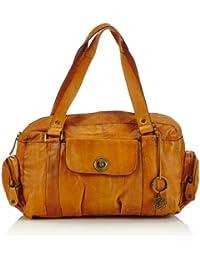 PIECES TOTALLY ROYAL LEATHER SMALL BAG13 - Bolso de hombro de cuero mujer