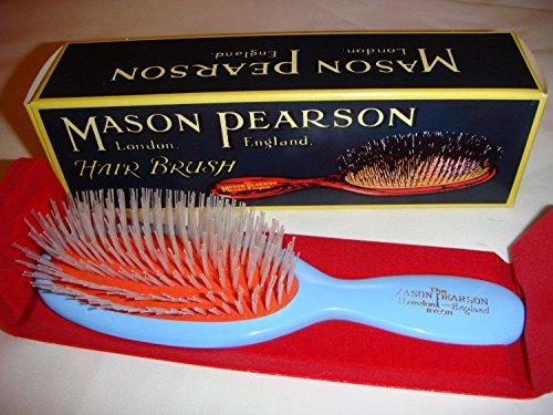 Mason Pearson Brushes Nylon Pocket N4 Blue - Pocket Hair Brush