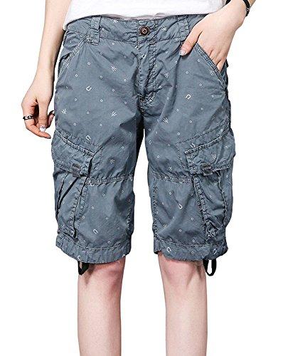 2018 neue Sommer Camouflage Overalls mehr Pocket Shorts Männer und Frauen Outdoor Casual Hosen fünf Hosen Flut Baumwolle Hosen -