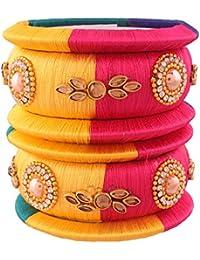 I Jewels ADB149 Bracelet fileté Traditionnel plaqué Or pour Femme 5459c14e8e3a