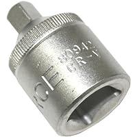 "Aerzetix - Vaso adaptador para llave de carraca de 1/2"" a 1/4"""