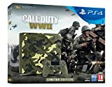 Sony PlayStation 4 (PS4) Slim 1TB Camouflage Grün - Call of Duty: WWII Limited Edition