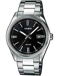 Casio Collection - Herren-Armbanduhr mit Analog-Display und Edelstahlarmband - MTP-1302PD-1A1VEF