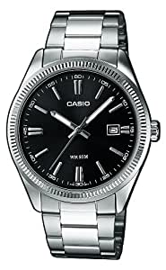 Casio Collection MTP-1302D-1A1VEF - Orologio da Polso Analogico, Nero