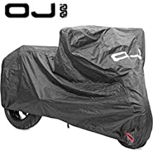 TELO COVER COPRI MOTO SCOOTER OJ YAMAHA WHY 50 1998 IMPERMEABILE NERO