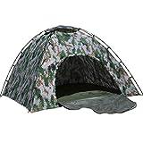 HUIFANG Tenda Mimetica Cotone Quattro Stagioni Tenda Mimetica Digitale Cotone Spesso Camuffamento Tenda da Campeggio All'aperto 3-4 Persone 200 * 200 * 145 A (Colore : 3-4 People)
