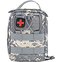 Tracffy EMT First Aid Utility Pouch Compact Tactical MOLLE Medical kit Bag 1000D for Home Car Outdoor Workplace... preisvergleich bei billige-tabletten.eu