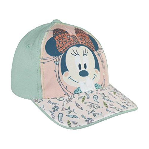 Disney Minnie Maus 2200002847 Cap, Baumwolle, Kinder (Rosa)