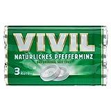 Vivil Pfefferminz 3 Rollen Multipack, 87 g